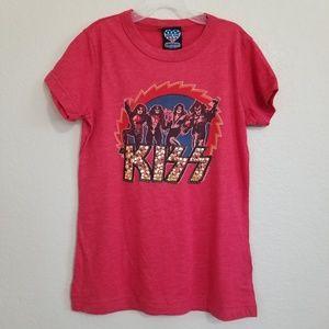 NWT Kiss Bling Graphic Band T Shirt M
